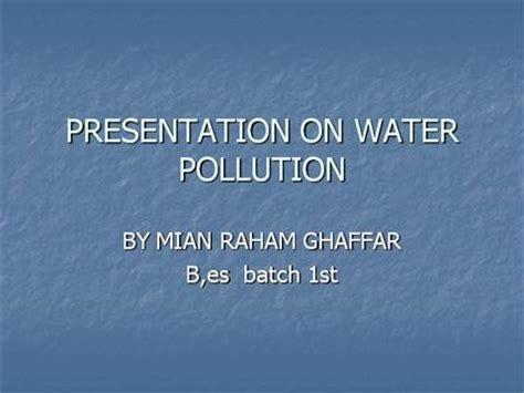 Introduction of air pollution essay